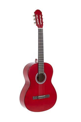 GEWApure Konzertgitarre BASIC 4/4 transparent rot