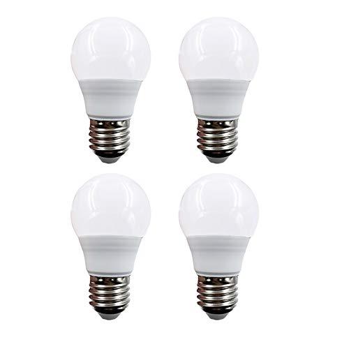 12 V Niedervolt LED Glühbirnen AC DC 12V bis 48V E26 warmweiß 3000K 3W für Off Grid Solar Beleuchtung Marine Boat RV 12V Innenbeleuchtung 4 Stücke(3W-Warmweiß)