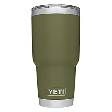 YETI Rambler 30 oz Stainless Steel Vacuum Insulated Tumbler w/ MagSlider Lid, Olive Green