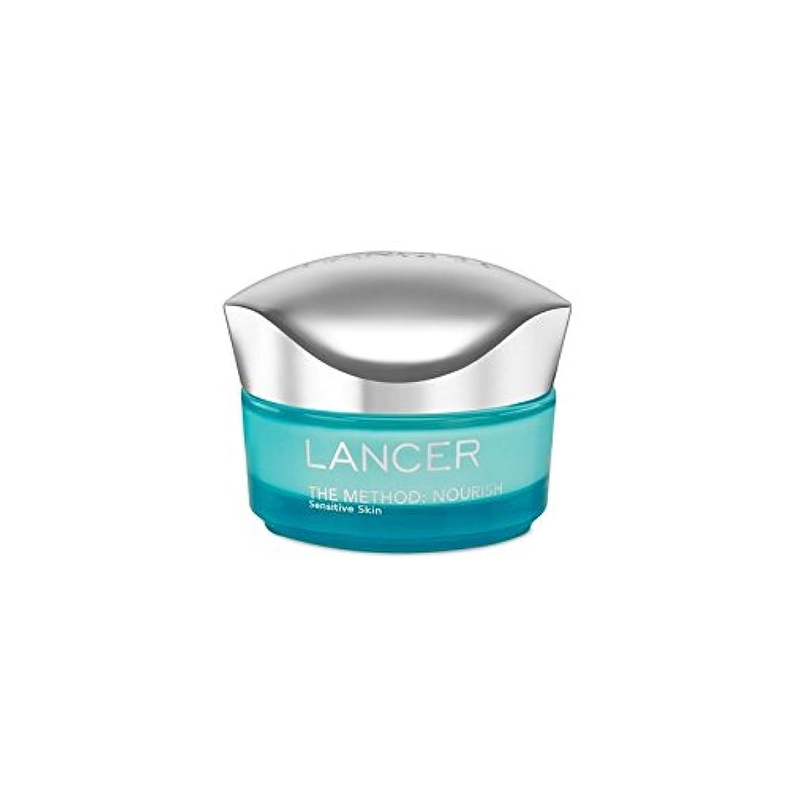 ハント原油ゴミ箱を空にするLancer Skincare The Method: Nourish Moisturiser Sensitive Skin (50ml) (Pack of 6) - ランサーは、この方法をスキンケア:保湿敏感肌(50)に栄養を与えます x6 [並行輸入品]