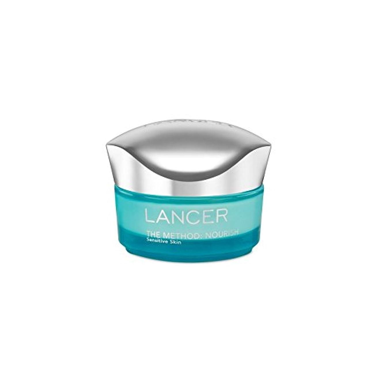 杖本部島ランサーは、この方法をスキンケア:保湿敏感肌(50)に栄養を与えます x4 - Lancer Skincare The Method: Nourish Moisturiser Sensitive Skin (50ml) (Pack of 4) [並行輸入品]