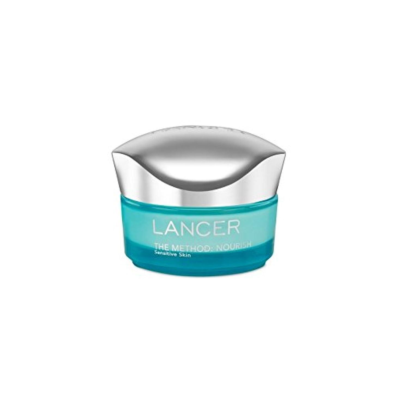 悩み活性化破滅ランサーは、この方法をスキンケア:保湿敏感肌(50)に栄養を与えます x2 - Lancer Skincare The Method: Nourish Moisturiser Sensitive Skin (50ml) (Pack of 2) [並行輸入品]