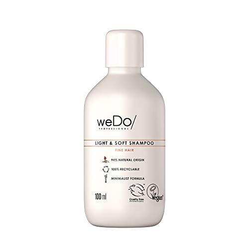 weDo/Professional Light & Soft Shampoo - leichtes Shampoo für feines Haar, 100 ml