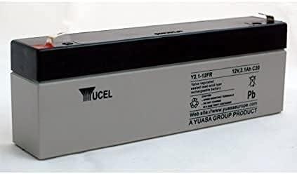 Yucel Y2.1-12FR Válvula regulada sellada plomo ácido SLA batería 12V 2.1Ah