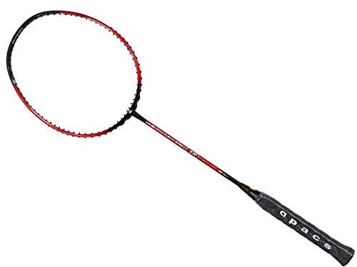 Apacs Nano Fusion Speed XR Badmintonschläger Rot Schwarz (6U)