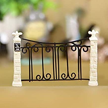 Gate Fence Miniature Fairy Garden Decoration Houses Craft Micro Landscaping Decor Home Decoration DIY Accessories