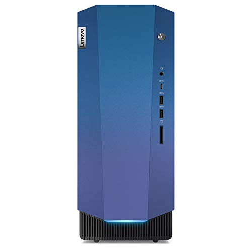 Lenovo IdeaCentre Gaming 5i Desktop PC (Intel Core i5-10400F, 512GB SSD, 16GB RAM, NVIDIA GeForce GTX 1650 SUPER, Windows 10 Home) schwarz