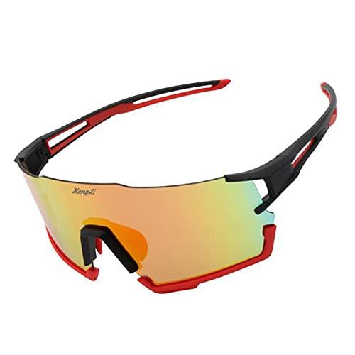 B-yun Gafas De Ciclismo, Gafas Deportivas Anti-ultravioletas, Gafas Polarizadas para Conducción Al Aire Libre Y Mujeres Y Mujeres.(Color:A2)