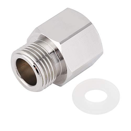 Gojiny Soda Stream Adapter Tr21-4 bis W21. 8 Aluminium Nachfüll Soda Stream Adapter Konverter Zubehör für Aquarium Zylinder
