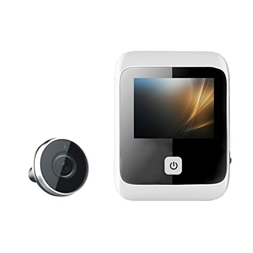 Visor de puerta digital LCD cámara de seguridad oculta monitor de seguridad...