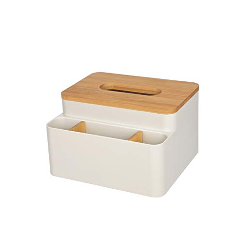 Ahorro De Espacio Extraíble Caja De Almacenamiento para Comedor Cocina Dormitorio,Caja De Almacenamiento De Tejido Multifuncional,Partición De Plástico Caja De Tejido-Albaricoque 21x15.2x12cm