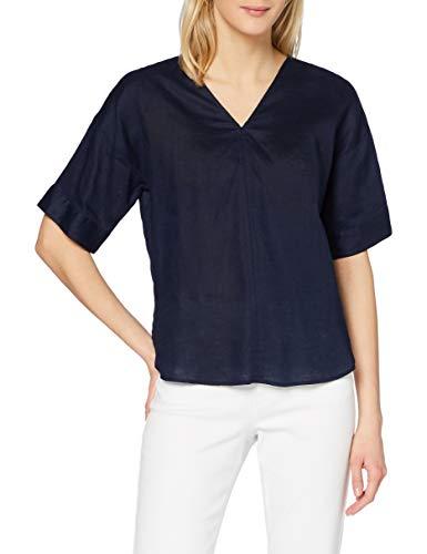 find. Camiseta Extralarga con Cuello de Pico Mujer, azul (marino), 40, Label:...