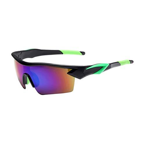Gafas de sol Deportivas con lentes Polarizadas y Espejo para Ciclismo MTB...