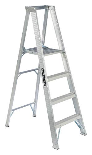 Louisville Ladder AP1004 300-Pound Duty Rating Aluminum Platform Ladder, 4-Foot