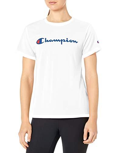 Champion Women's Classic TEE, White, MEDIUM