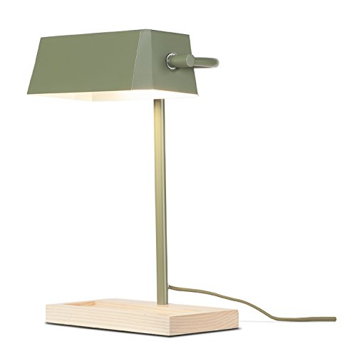 It's about RoMi CAMBRIDGE/T/OG Lampe à poser, Fer, E27, 40 W, Vert