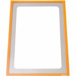 Ultradex Infotasche magnetisch für DIN A3 435x312mm VE=1 Stück orange