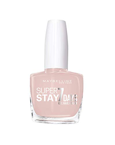 Maybelline New York - Superstay 7 Días, Esmalte de Uñas Efecto Gel, Tono 076 French Manicure