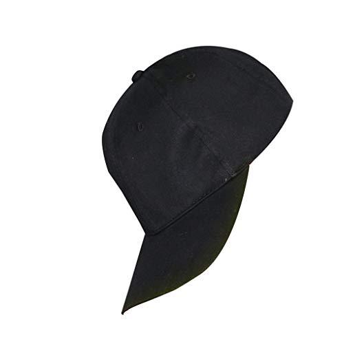 teng hong hui Niño Niña LED Luminoso del Visera del Sombrero Sombrero de Visera llevó Luminoso Resplandor de la Calle del Partido del Club de béisbol de Baile se Divierte el Casquillo Ajustable