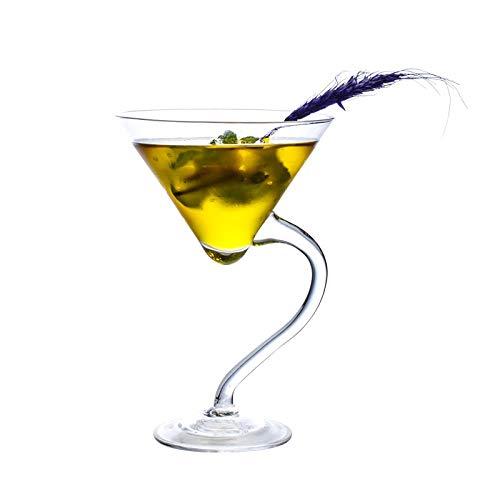 Copa De Cóctel Martini Copa Margarita Vidrio Transparente Sin Plomo Capacidad De Aproximadamente 230 Ml