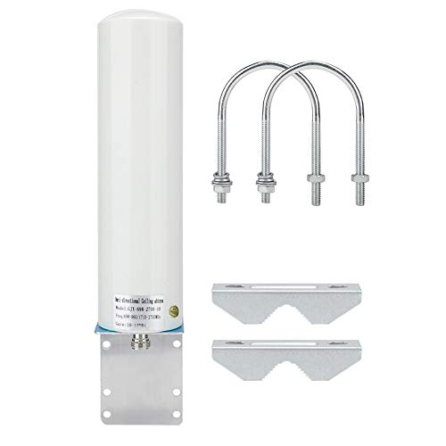 Wendry antenne, 12 dBi SMA mannelijke router antenne, 698 – 2700 MHz 4G/3G externe antenne Barrel antenne, Fit LTE router repeaters, met stabiel signaal