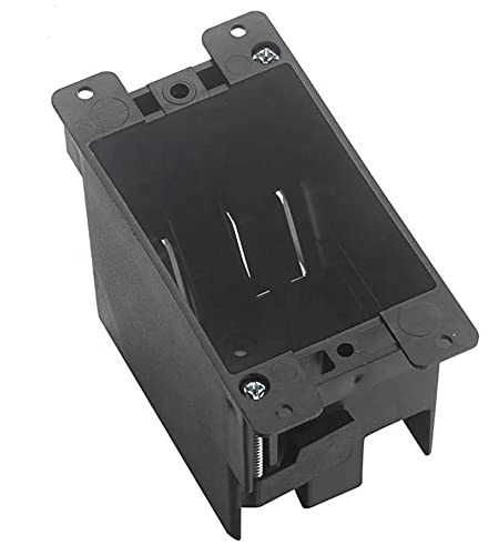 Single Gang PVC Electrical Switch/Outlet Box, Old Work ,Cut-in, UL Approved, Grey
