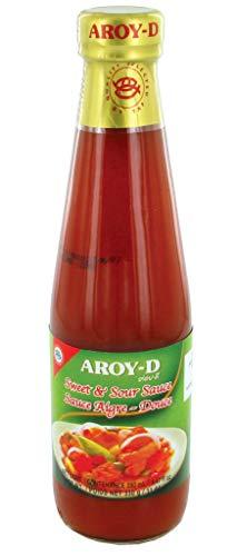 AROY-D Sauce Aigre-Douce thaïlandaise 280ML (Lot de 24 bouteilles)