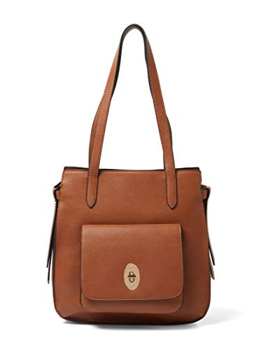 TOM TAILOR Damen Taschen & Geldbörsen Shopper Krystal cognac/brandy,OneSize