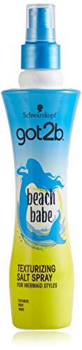 Got2B Beach Babe Spray Salino Texturizzante, Effetto Capelli da Spiaggia, Crea Onde Naturali, Formato 200 ml