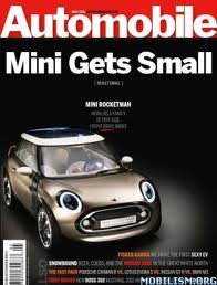 AUTOMOBILE MAGAZINE, MAY 2011: Mini Rocketman, Fisker Karma, Boss 302 Mustang, Cayman vs. lotus Evora vs. GTR vs. M3, etc.,
