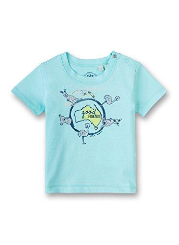 Sanetta - T-shirt - Manches courtes - Bébé (garçon) 0 à 24 mois - Turquoise - 6 mois