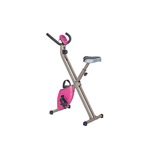DJDLLZY Bicicletas de ejercicio, ejercicio aeróbico ultra silencioso vertical Inicio de control magnético un hilado estable bicicletas cubierta Deportes de bicicletas equipo de la aptitud bicicleta es