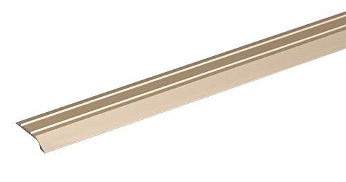 GAH-Alberts 490539 Ausgleichsprofil | selbstklebend | Aluminium, sandfarbig eloxiert | 900 x 30 mm