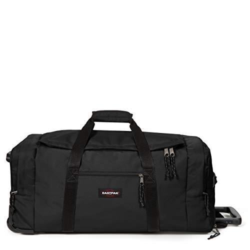 Eastpak Leatherface L + Sac de Voyage, 86 cm, 104 L, Noir (Black)