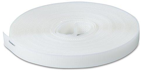 Windhager Befestigungsband für Fiberglas- und Aluminiumgewebe, Insektenschutzgewebe Klebeband, Fliegengitterband Gitterbefestigung, 2 x 2,5 m, weiß, 03398