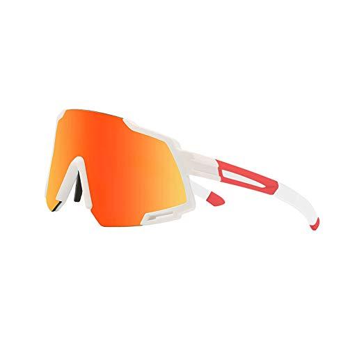 SAHWIN Gafas De Sol Deportivas para Ciclismo, Protección UV400 Y Montura De TR-90, Resistentes A Golpes Antivaho para Hombre Mujer MTB Bicicleta Correr Montaña Y Carretera,Style7