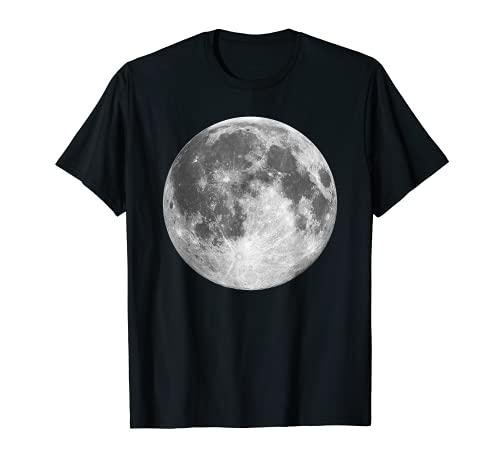 Full Lunar Moon Space Galaxy Goft T-Shirt