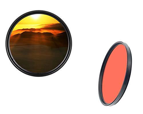 52 mm Filtro colorato professionale arancione Full Filter filtro di marca 52 mm dHD DIGITAL