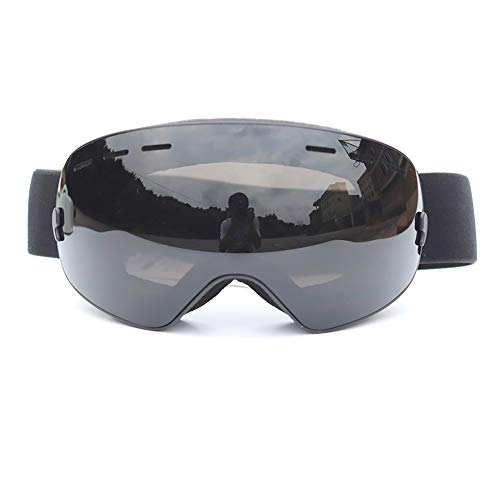 Ski-Snowboard-Brille UV-Schutz Anti-Nebelschneebrille für Männer Frauen Jugend,B