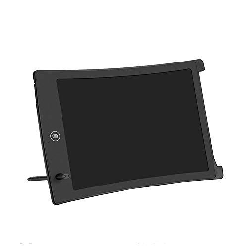 LHTY LCD-Schreibtafel, digitaler E-Writer mit elektronischem Zeichenblock, tragbares 8,5-Zoll-Handschriftbrett für Kinder- und Erwachsenenunterhaltung, Büro in der Schule zu Hause,Schwarz