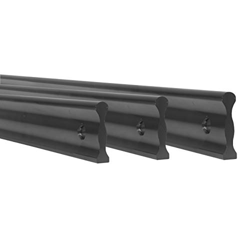 Fulton 24 inch 38 inch and 50 inch Anodized Aluminum Straight Edge Bars | Perfect for Checking Straightness On Metal Surface Tops Whet Stones Machinery and Can Be Used to Mark Or Scribe Lines
