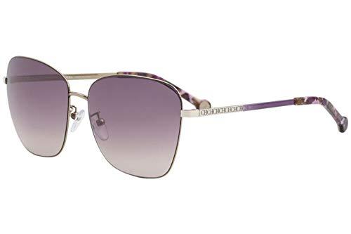 Carolina Herrera Gafas de Sol Mujer SHE103598FEX (Diametro 59 mm), Purple, Talla Unica Unisex-Adult