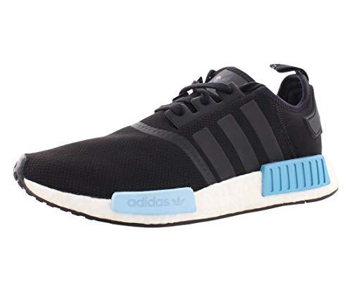 adidas Originals Herren NMD_R1 W Laufschuh, Core Black/Core Black/Icey Blue, 43 EU