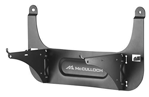 McCulloch Wandhalterung für ROB S, Wandmontage für Mähroboter ROB S400 / ROB S600, platzsparende Aufhängemöglichkeit (Art.-Nr. 00059-52.993.01)