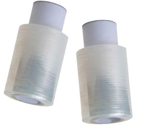 Mini rollo de film transparente con mango 300gr. Caja de 12 unidades