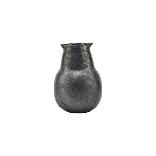 House Doctor, Flasche, Pion, Schwarz/Braun, Porzellan, h: 12 cm, Dia: 5.5 cm