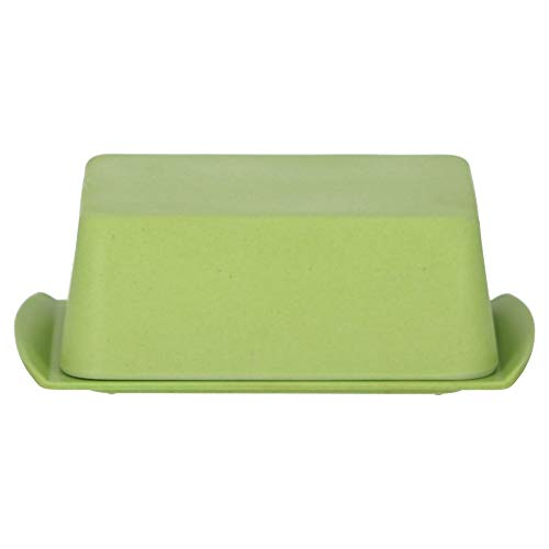 Magu Butterdose Natur-Design grün