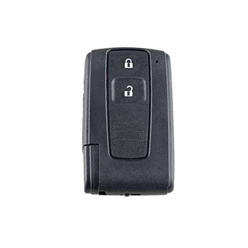 Mini Caja de Llave remota de 2 Botones Funda de Llave remota para Toyota Prius Corolla Verso Toy43 Blade (ToGames)
