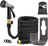 Expandable Garden Water Hose Pipe - Lightweight Magic Expanding Flexible Hose with 8