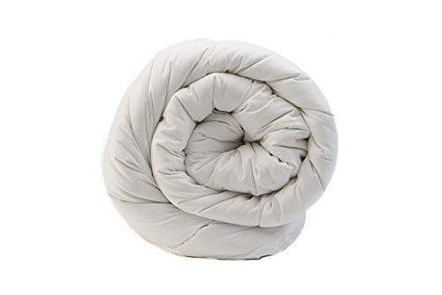 Rohi Double 13.5 Tog Hollowfibre Anti-Allergy Duvet/Quilt White – MADE IN UK (200cm x 200cm)
